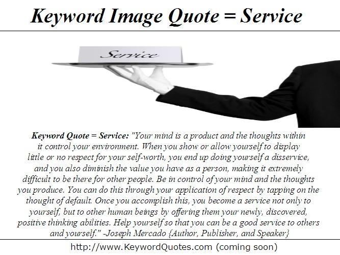 Disservice quote #1
