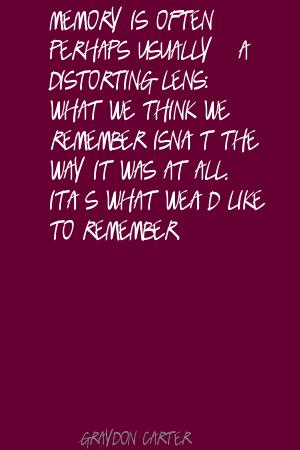 Distorting quote #1