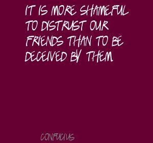 Distrust quote #8