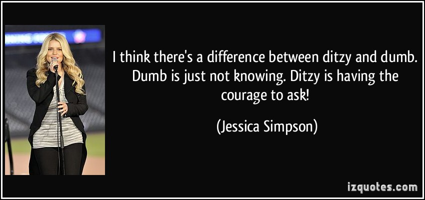 Ditzy quote #1