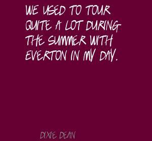 Dixie Dean's quote #1