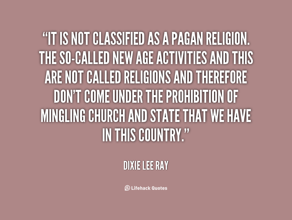 Dixie Lee Ray's quote #8