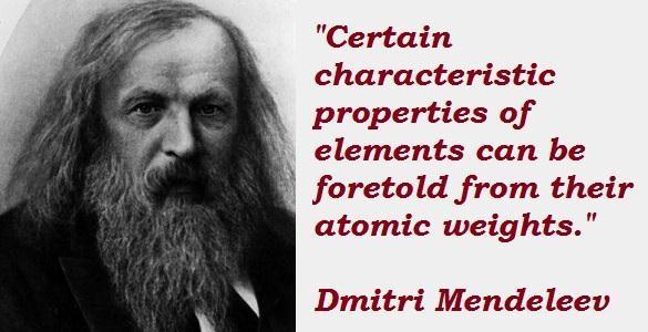 Dmitri Mendeleev's quote #5