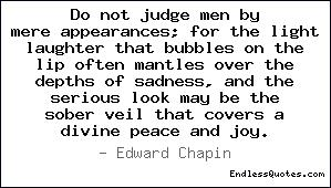 Do Not Judge quote #2