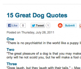 Dog quote #4