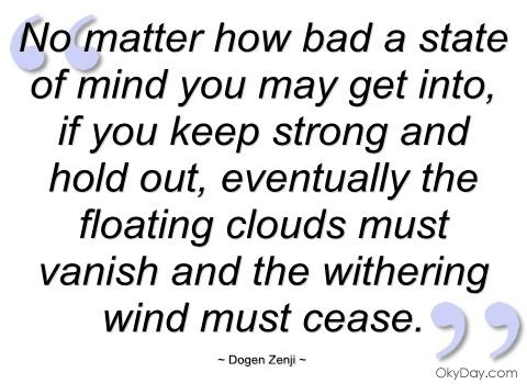 Dogen Zenji's quote #2