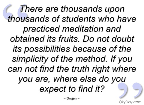 Dogen's quote #2