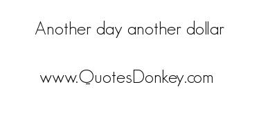 Dollar quote #4