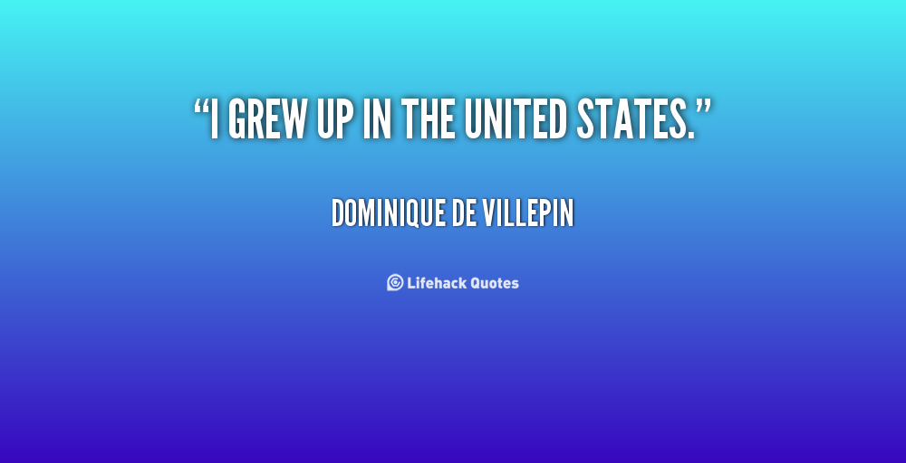 Dominique de Villepin's quote #1