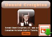 Donald Creighton's quote