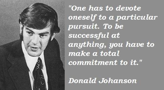Donald Johanson's quote #6