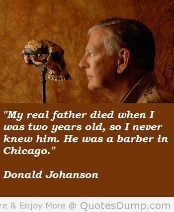Donald Johanson's quote #5