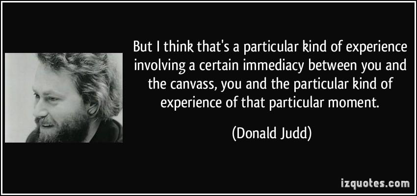 Donald Judd's quote #5