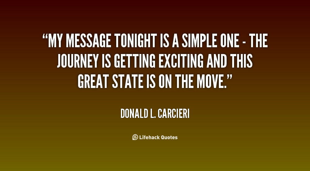 Donald L. Carcieri's quote
