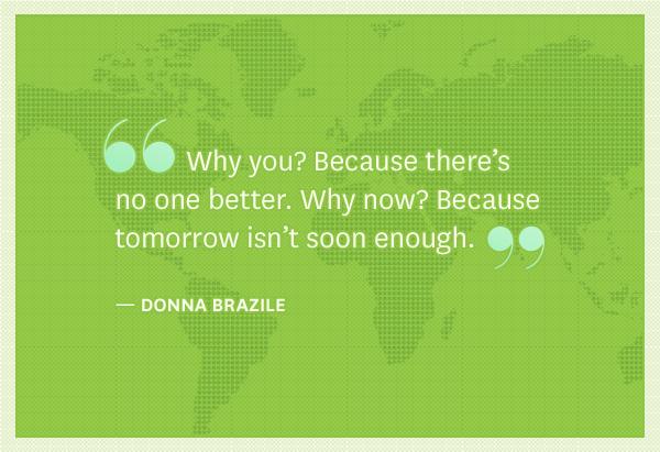Donna Brazile's quote #3