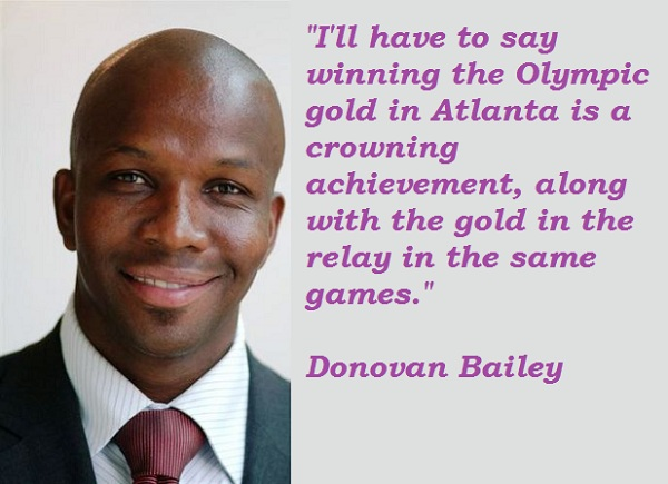 Donovan Bailey's quote #7
