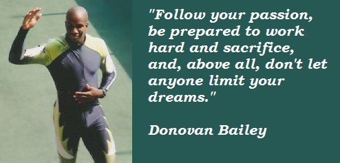 Donovan Bailey's quote #5