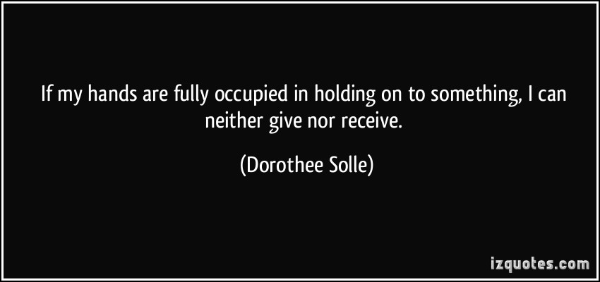 Dorothee Solle's quote