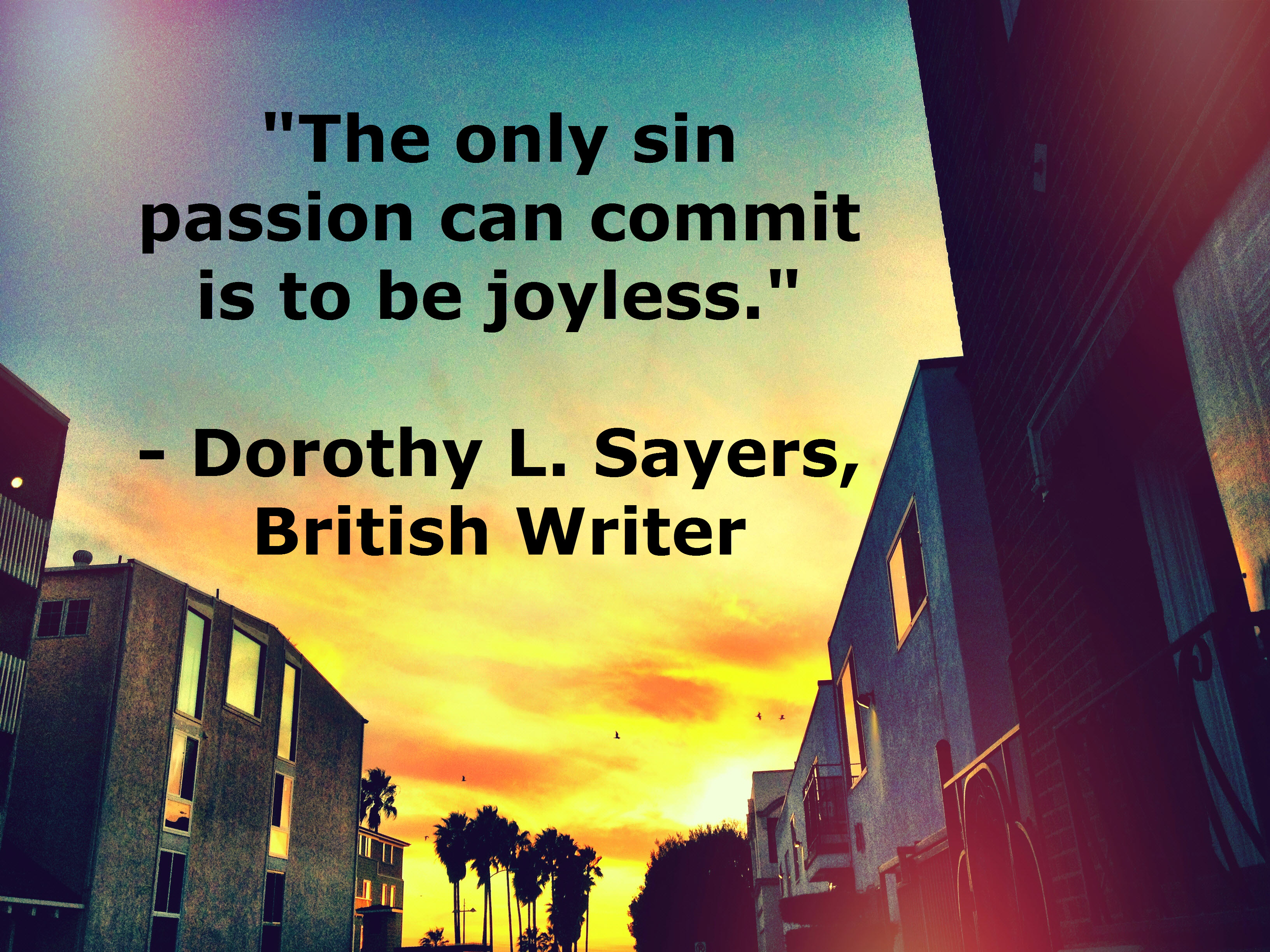 Dorothy L. Sayers's quote #3