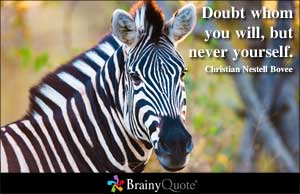 Doubt quote #2