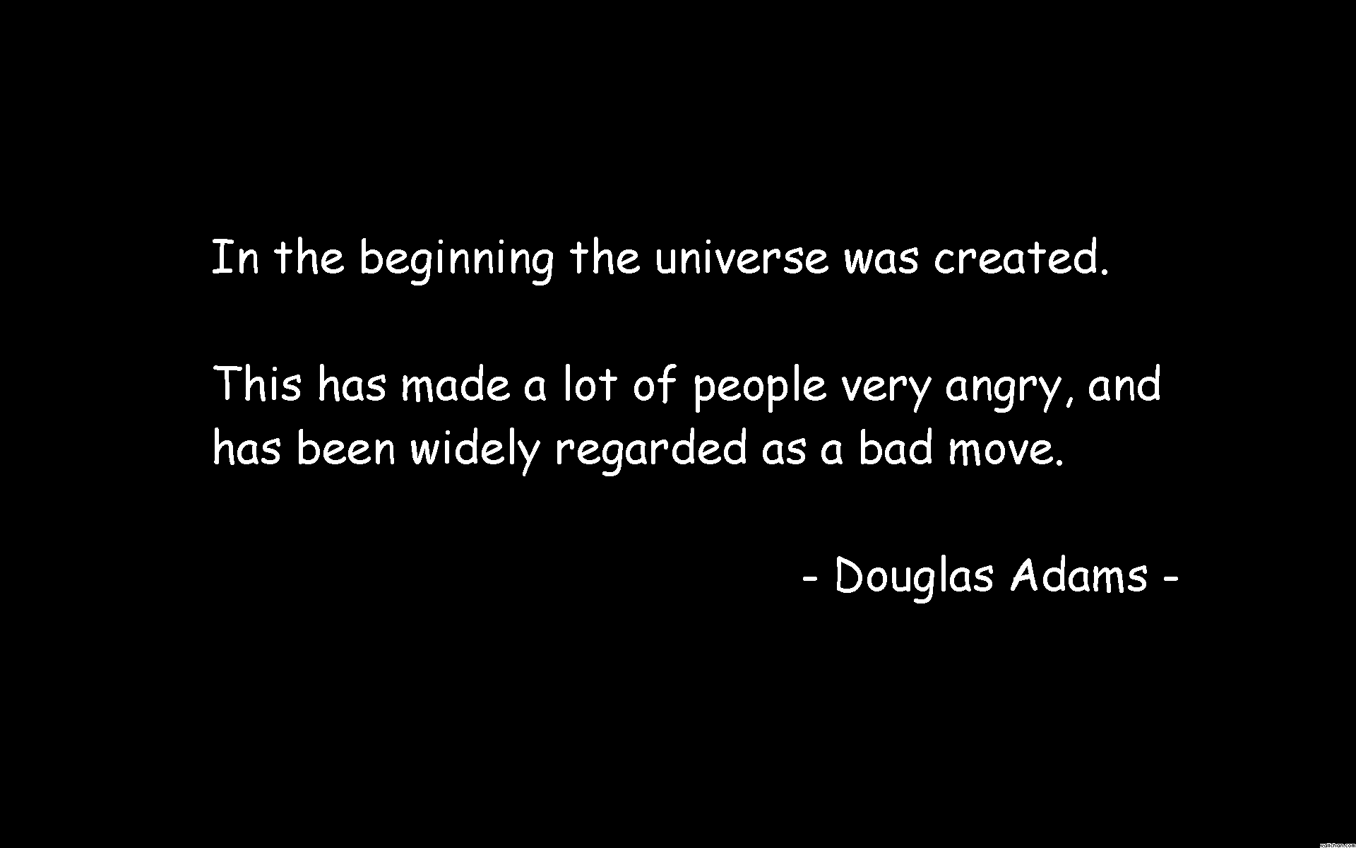 Douglas Adams's quote #6