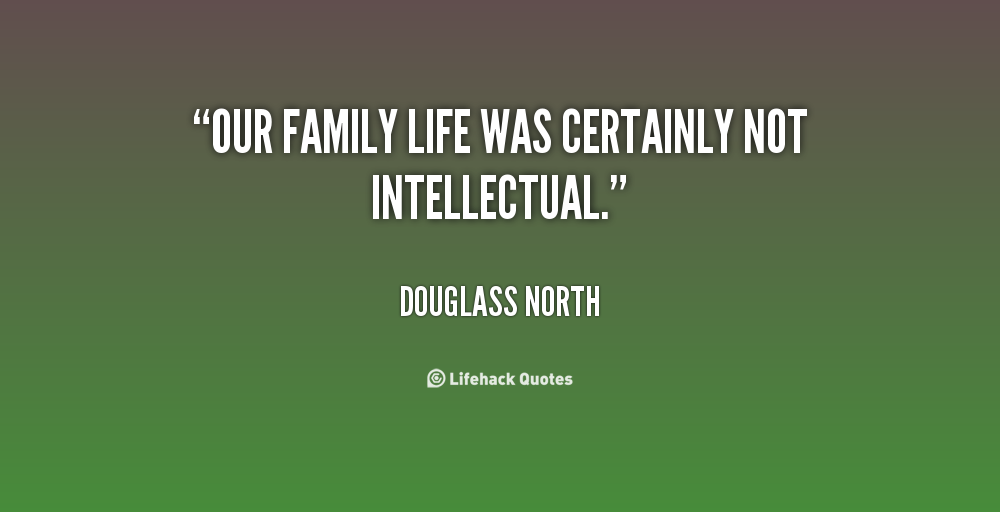 Douglass North's quote #6