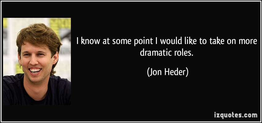 Dramatic Role quote #2