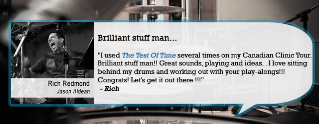 Drummer quote #1