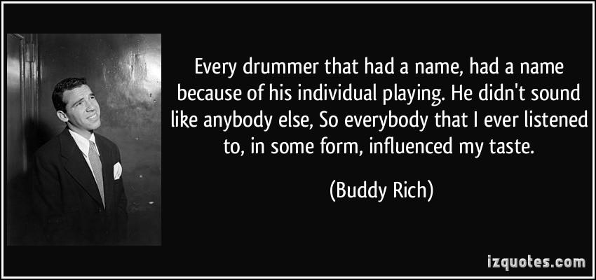 Drummer quote #6