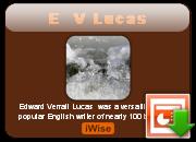 E. V. Lucas's quote #6