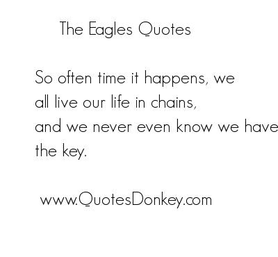 Eagles quote #2