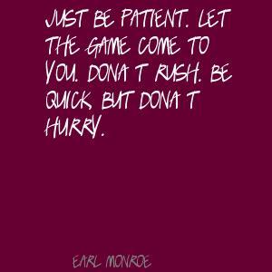Earl Monroe's quote