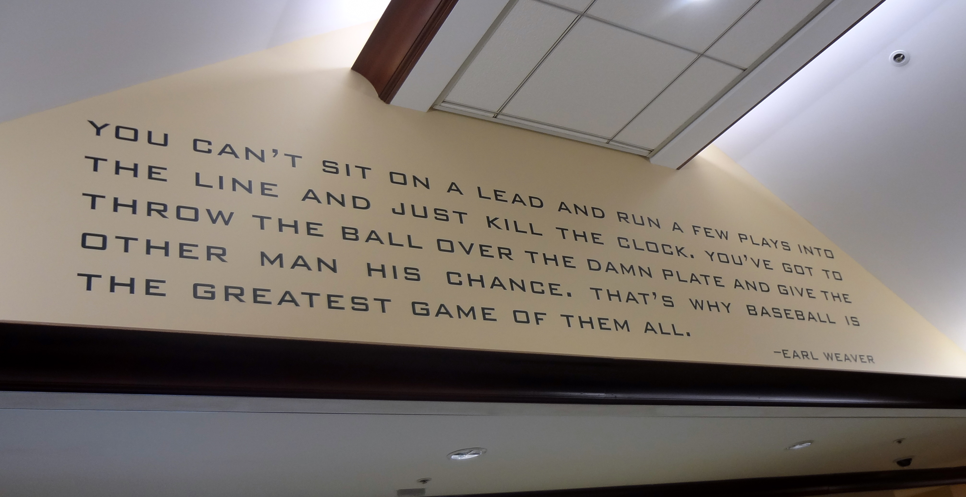 Baseball Quote Earl Weaver's Quotes Famous And Not Much  Sualci Quotes