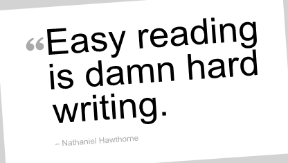 Easy Reading quote #2