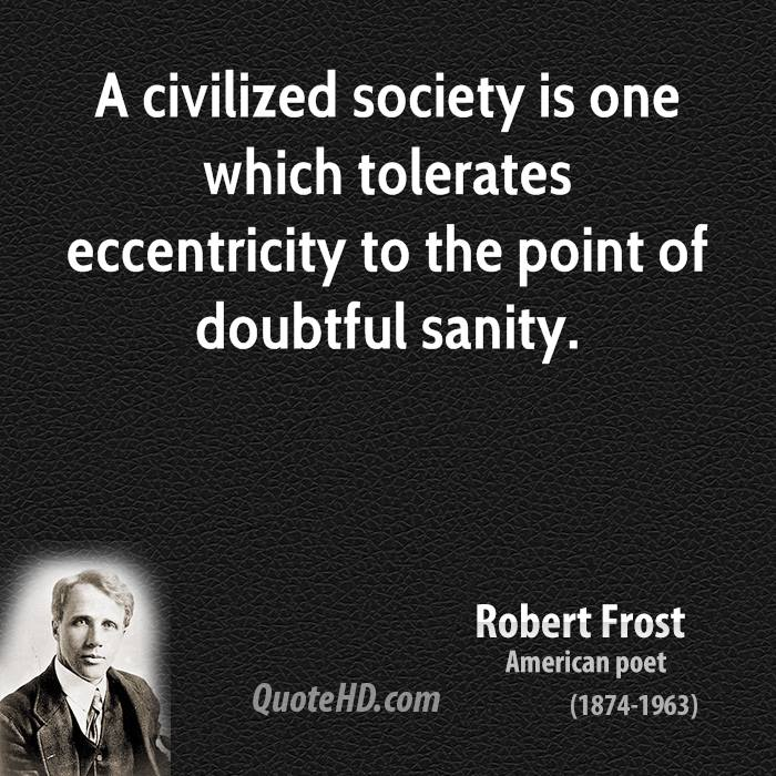 Eccentricity quote #2