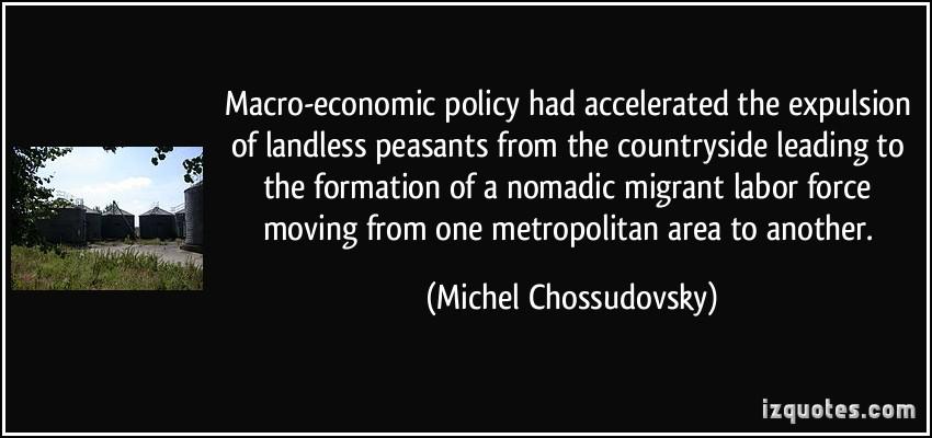 Economic Policy quote #1
