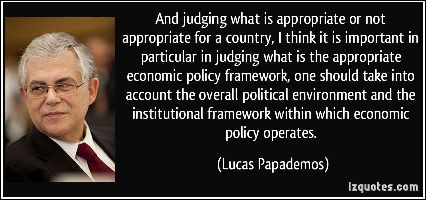 Economic Policy quote #2