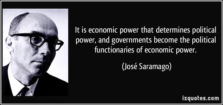 Economic Power quote #1