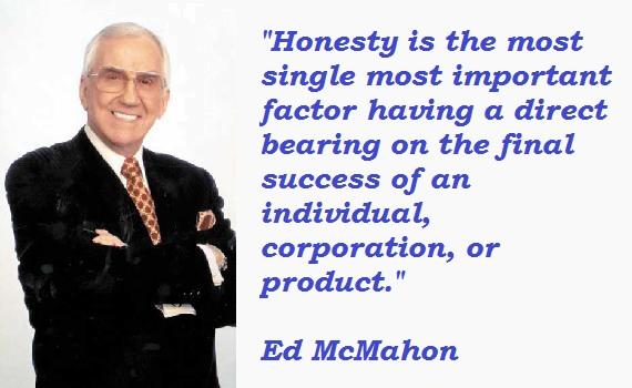Ed McMahon's quote