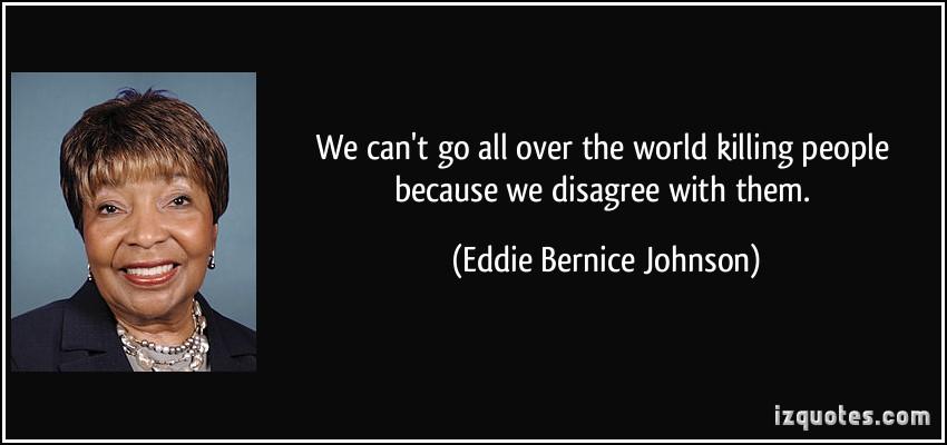 Eddie Bernice Johnson's quote #3