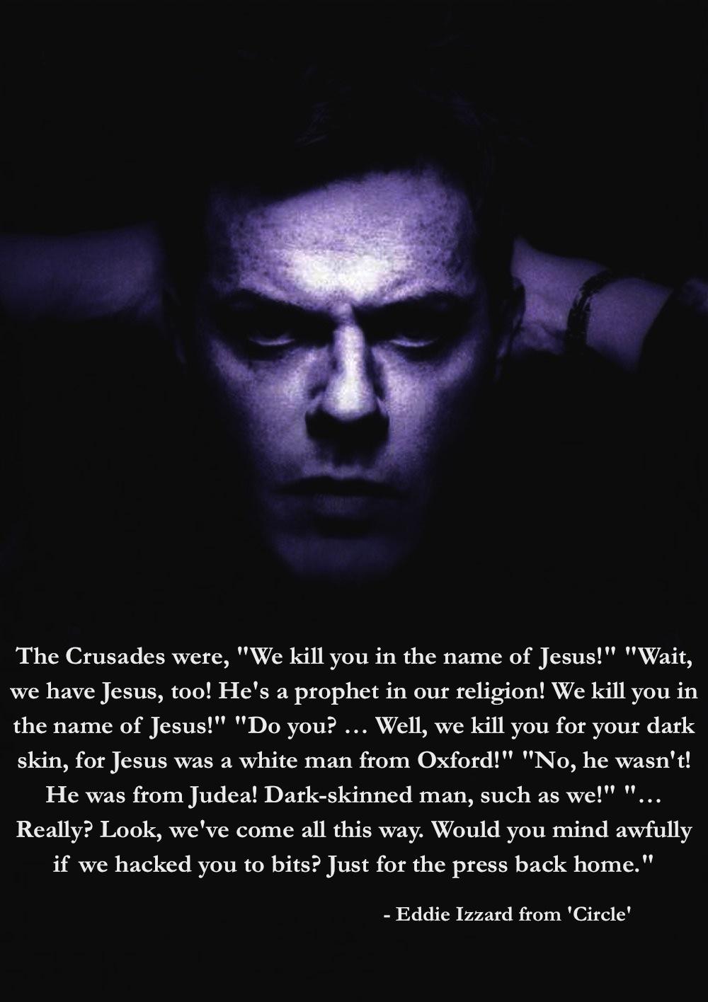 Eddie Izzard's quote #3
