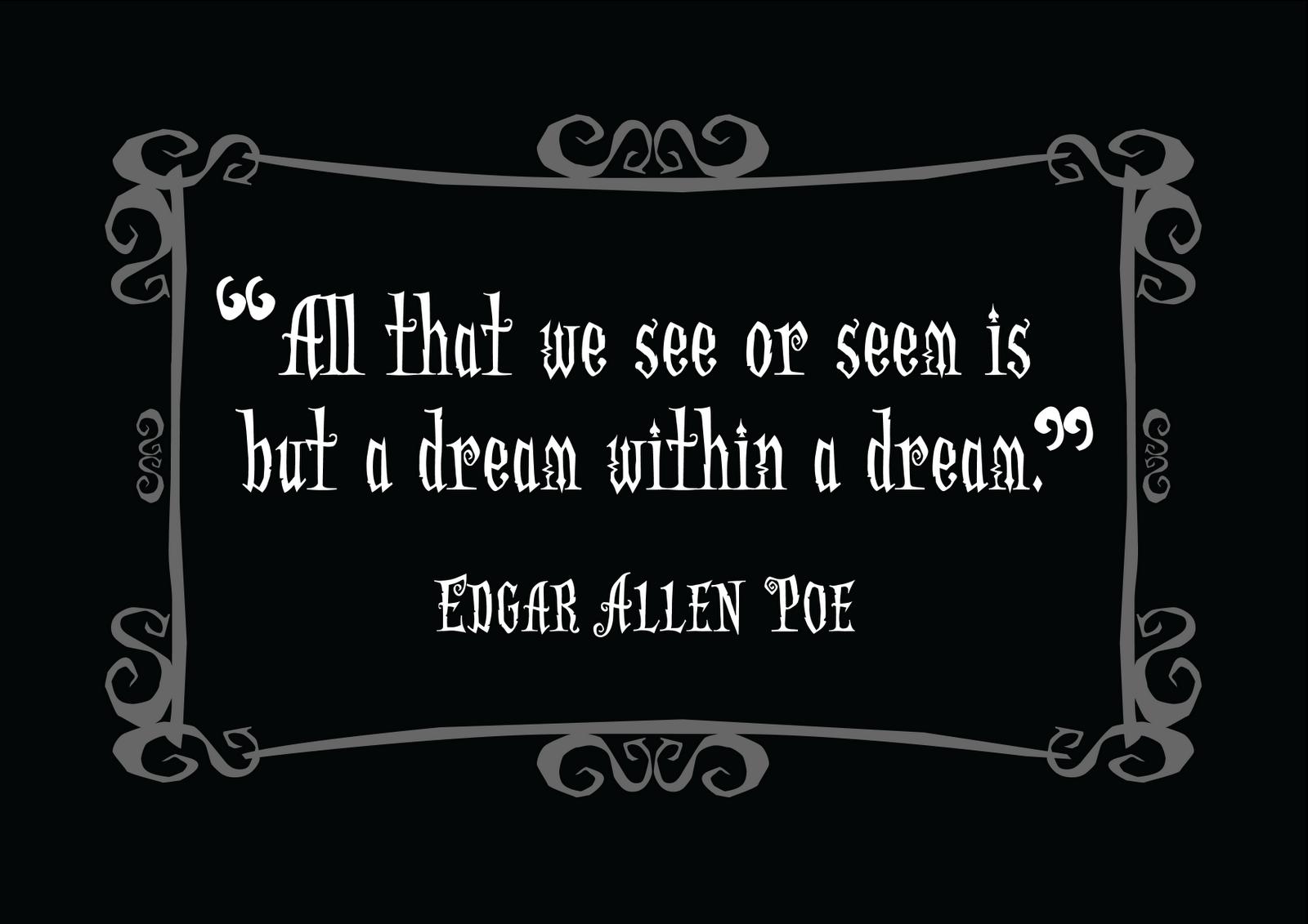 Edgar Allan Poe's quote #5