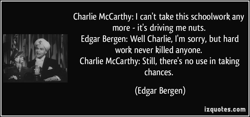 Edgar Bergen's quote #4