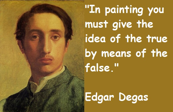 Edgar Degas's quote #3