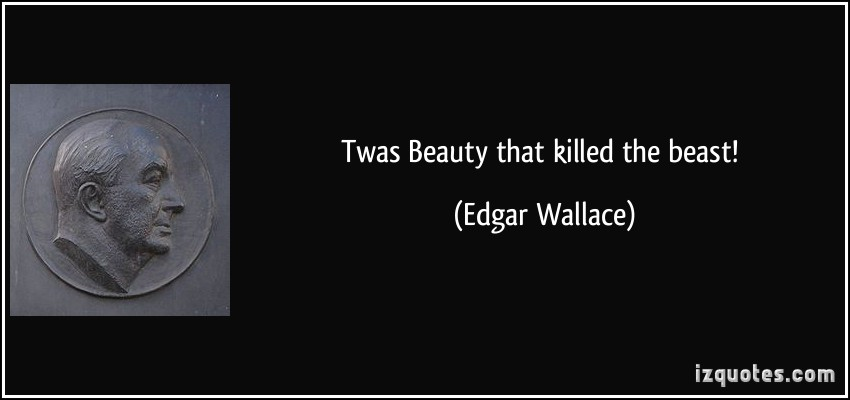 Edgar Wallace's quote