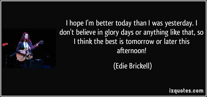 Edie Brickell's quote #5