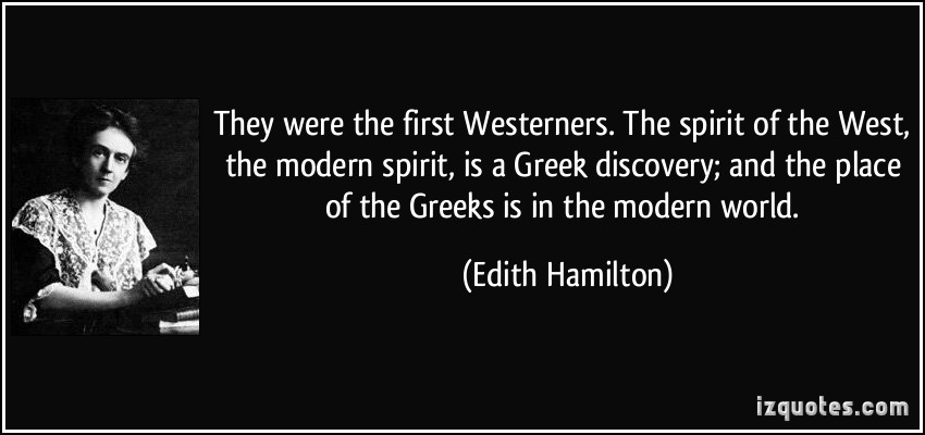 Edith Hamilton's quote #4