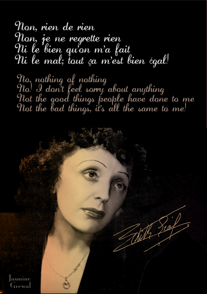 Edith Piaf's quote #1