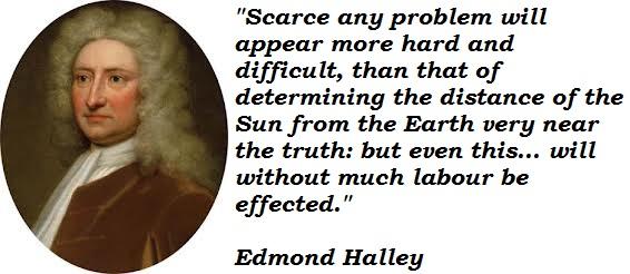 Edmond Halley's quote