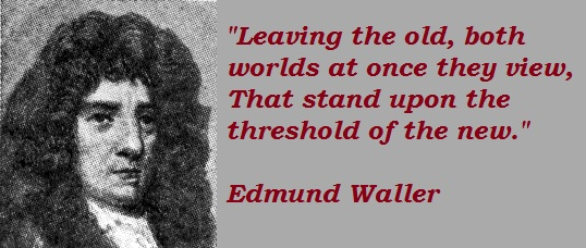 Edmund Waller's quote #3